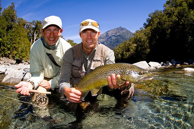 New zealand fly fishing and saltwater fishing information for New zealand fish